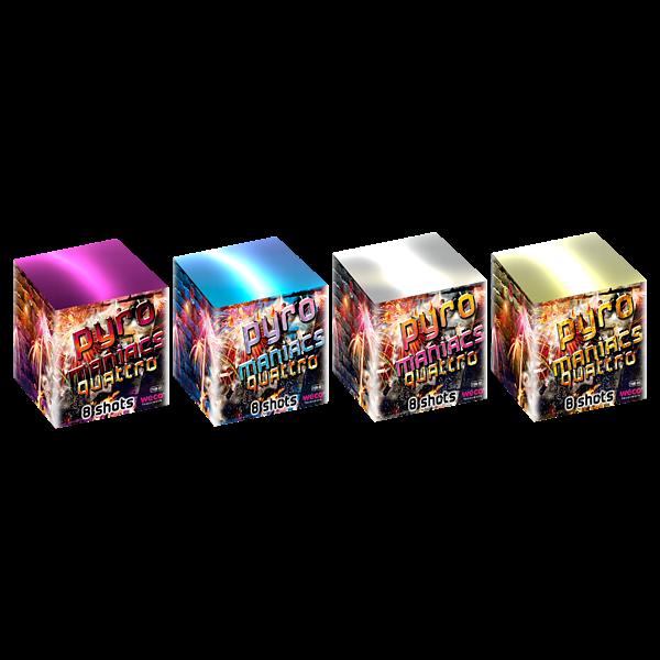 Pyromaniacs Quattro